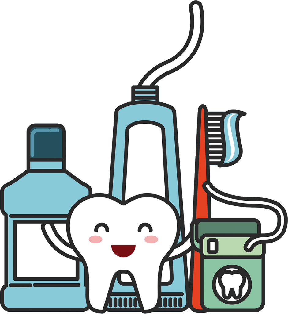 Choose the best dental care products for your dental implants.