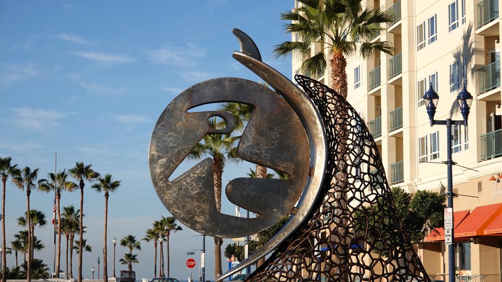 art installation in Oceanside, CA